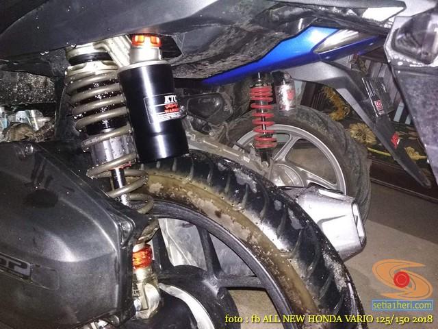 Kumpulan modifikasi shock belakang Honda Vario 125/150