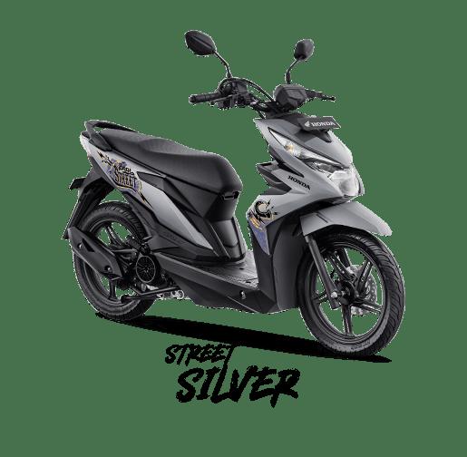 Warna baru new Honda BeAT Street eSP tahun 2019
