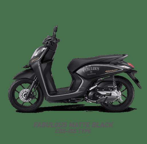 pilihan warna Honda Genio tahun 2019