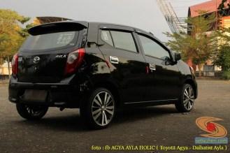 Kumpulan gambar modifikasi Agya-Ayla pakai velg Honda Jazz