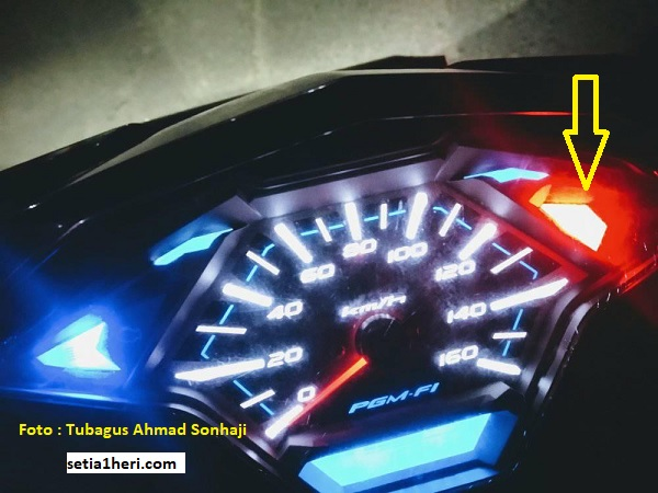 Tanda merah muncul di dashboard Honda Vario, cek bagian ini brosis (khusus pemula)