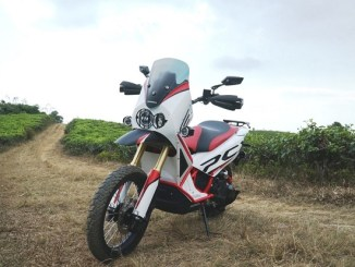 modifikasi honda pcx jadi motor adventure
