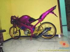 Kumpulan gambar modifikasi Yamaha Vixion warna pink brosis (10)
