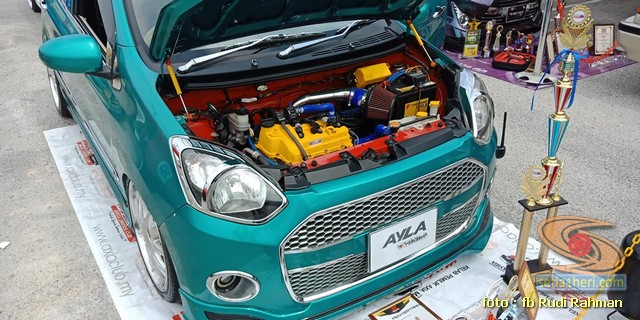 Modifikasi ganteng Daihatsu Ayla asal Malaysia brosis