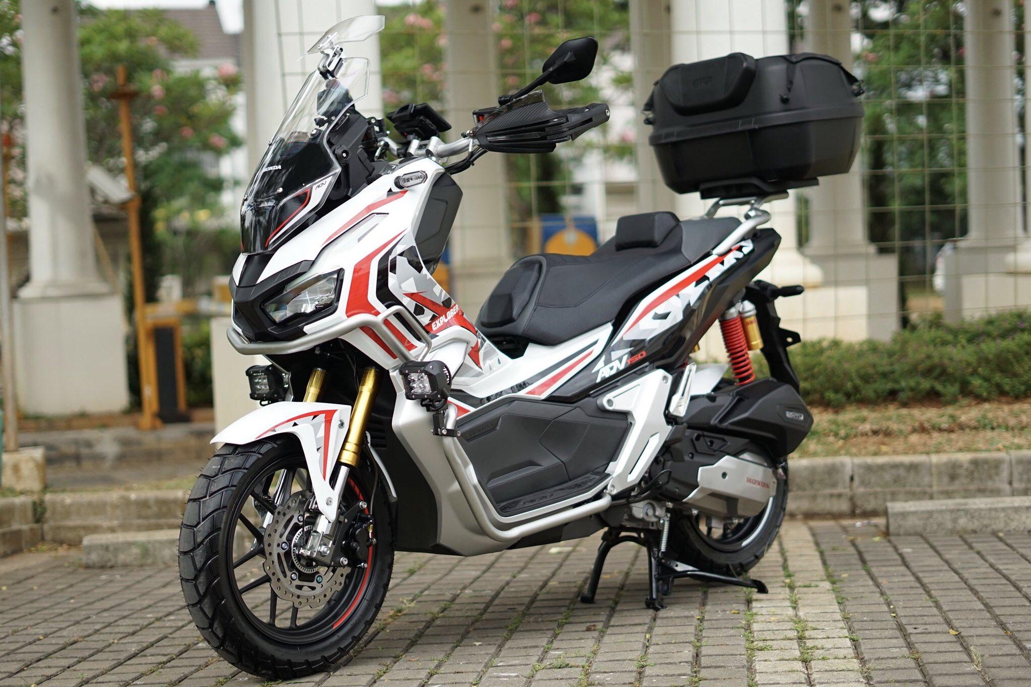 Konsep Modifikasi Honda Adv150 Tahun 2019 Advance Explorer