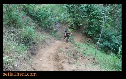 tips turunan bagi biker trabas trail