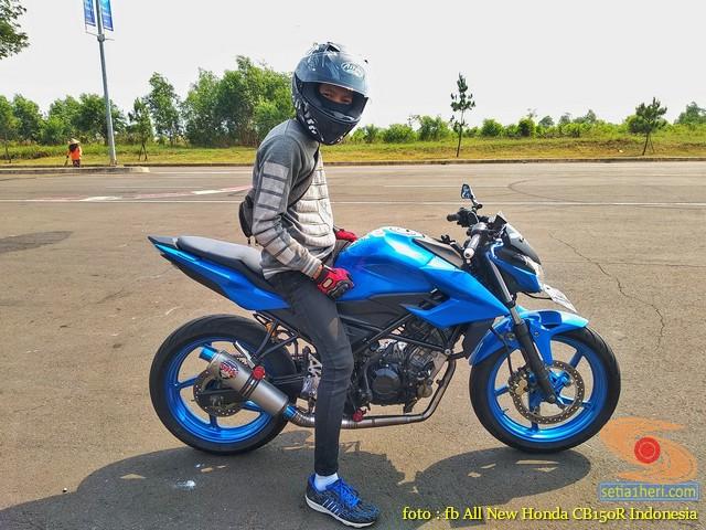 Foto Foto Modifikasi Velg Repaint Pada Honda Cb150r