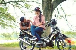 biker honda supra