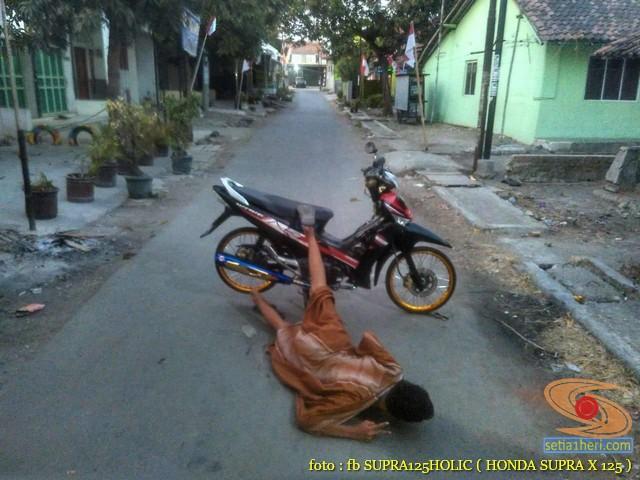 Kumpulan foto honda supra dan ridernya, monggo diintips brosis (9)