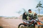 Kumpulan foto romantisme anak motor trail maupun prewedding biker (17)