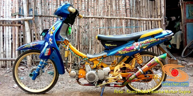 Inspirasi Honda Supra modif brosis