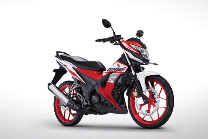 Pilihan Warna dan stripping Honda Sonic 150R tahun 2019