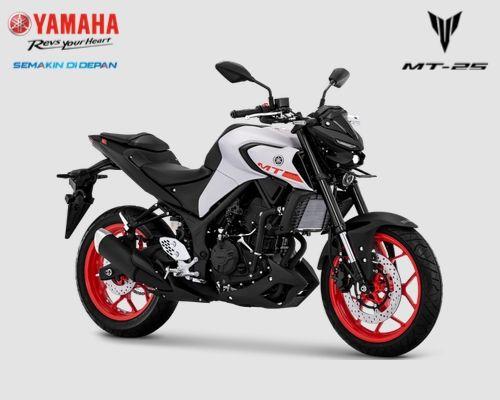 Pilihan warna Yamaha MT-25 tahun 2019