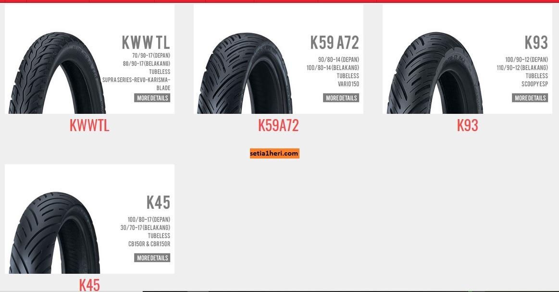 Mengenal ban motor Honda alias Honda Tire brosis...