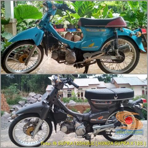 Modifikasi Kawin silang Honda Supra dan Honda C70 (9)