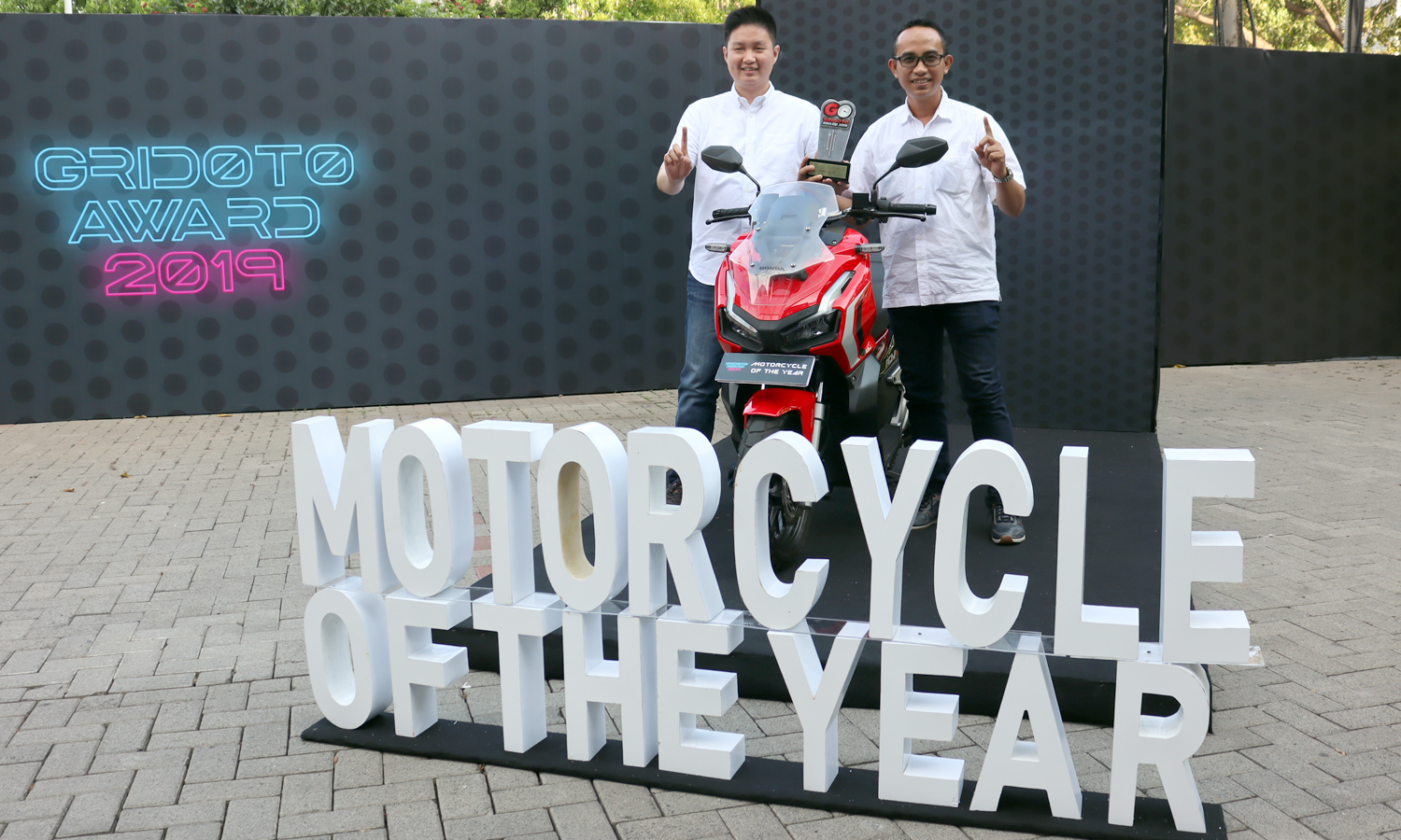 Wow....Honda ADV150 Raih Motorcycle of The Year tahun 2019