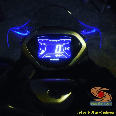 modifikasi bore up mesin Yamaha Lexi 125 jadi 155 cc, berikut pengalaman warganet