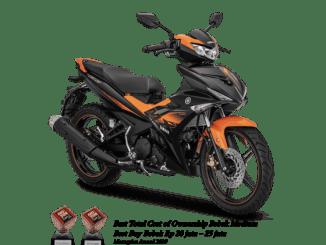 lampu hazard Yamaha MX King 150 tahun 2019