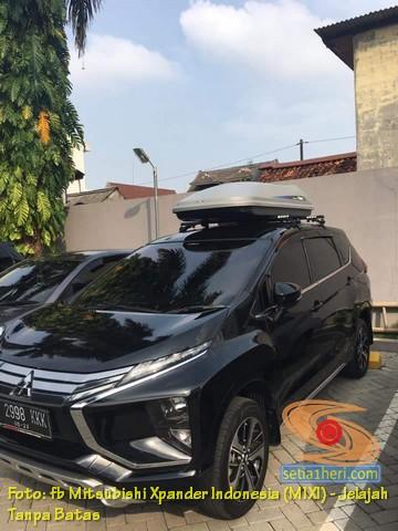 kelebihan dan kekurangan roof box pada mobil xpander, monggo disimak gans.. (1)