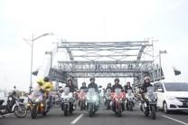lady biker Honda ADV150 city rolling keliling Kota Surabaya tahun 2019 (3)