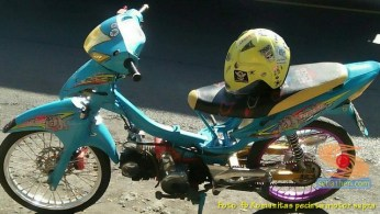 Modifikasi Honda Supra X lama alias Lawas brosis (9)