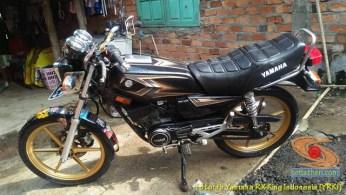 Modifikasi velg palang atau bintang pada Yamaha RX King (12)