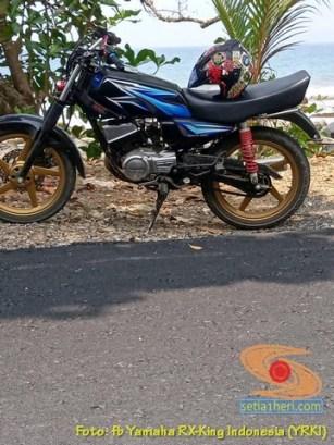 Modifikasi velg palang atau bintang pada Yamaha RX King (15)