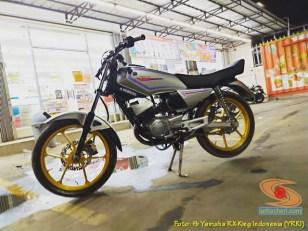 Modifikasi velg palang atau bintang pada Yamaha RX King (23)