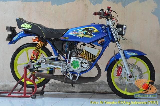 Modifikasi velg palang atau bintang pada Yamaha RX King (24)