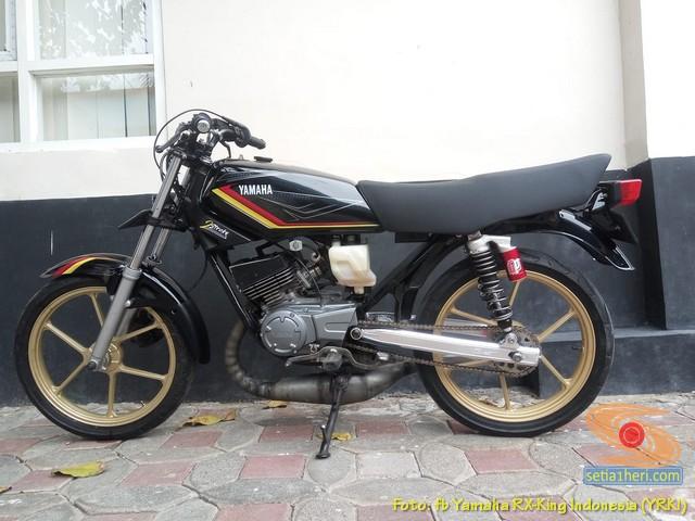 Modifikasi velg palang atau bintang pada Yamaha RX King (3)