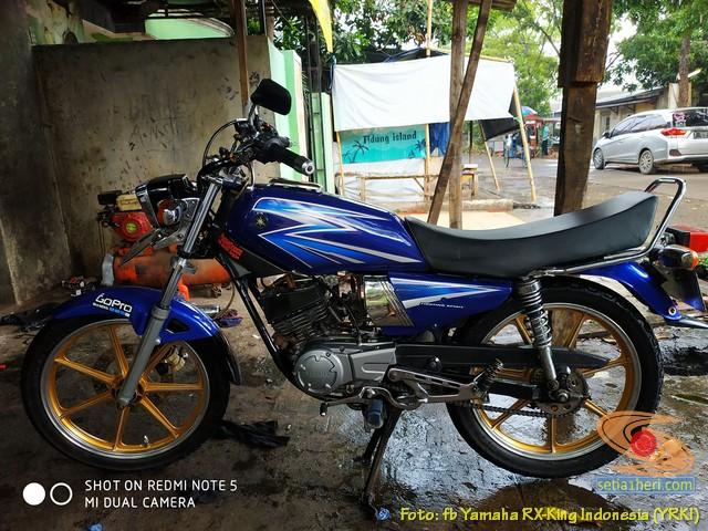 Modifikasi velg palang atau bintang pada Yamaha RX King (35)