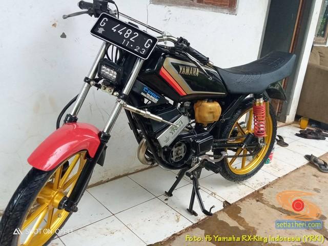 Modifikasi velg palang atau bintang pada Yamaha RX King (6)