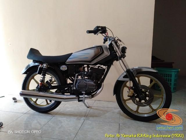 Modifikasi velg palang atau bintang pada Yamaha RX King (7)