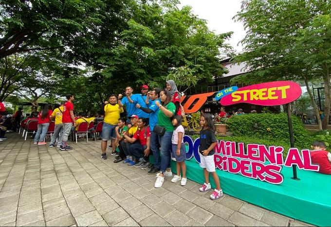 Wow 1000 Millenial join Genio On The Street di Kota Pahlawan tahun 2020 (2)