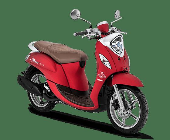 Yamaha Fino Grande tahun 2020 warna merah