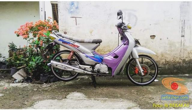 Mengenang motor lawas bebek jadul Honda Supra XX dan Supra V brosis (5)