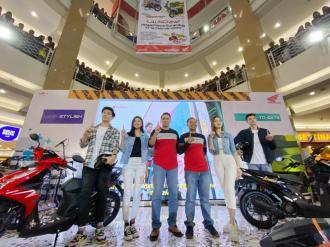 Meriahnya Launching All New Honda BeAT Series Di Royal Plaza tahun 2020