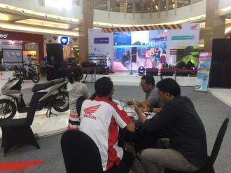 Meriahnya Launching Honda BeAT Series Di Royal Plaza tahun 2020