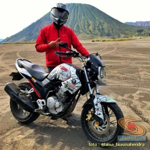 Modifikasi evolusi Yamaha Scorpio tahun 2012 punya bro Bima Biasmahendra (3)