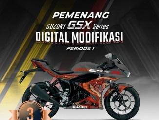 Pemenang Suzuki GSX Series Digital Modifikasi, kerenn masbrow