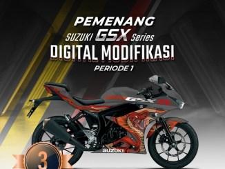 Pemenang Suzuki GSX Series Digital Modifikasi, kerenn masbrow