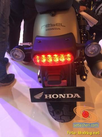 fitur baru Honda Rebel tahun 2020