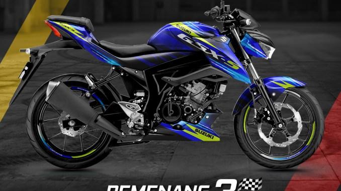 Pemenang Suzuki GSX S150 Digital Modifikasi tahun 2020, kerenn pisan masbrow