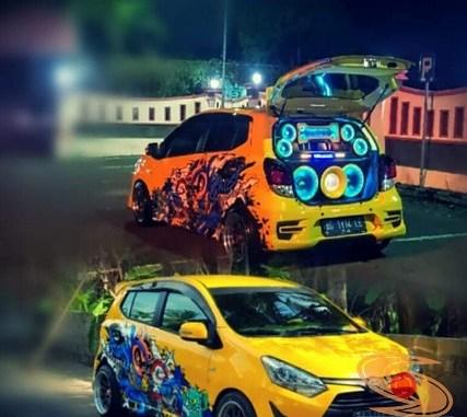 Kumpulan Foto Modifikasi Cutting Sticker Mobil Agya Dan Ayla Tahun 2020 Setia1heri Com
