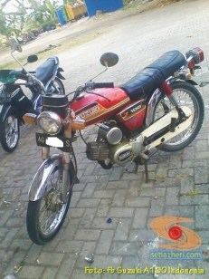 Kumpulan foto motor jadul Suzuki A100 (3)