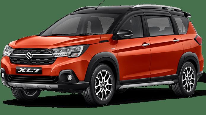 mobil suzuki XL7 warna orange tahun 2020