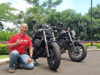 Arsi Aryanto, Pemilik pertama All New Honda CMX500 Rebel tahun 2020 asal Jakarta