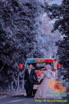 Foto-foto prewedding truk mania gans. (7)