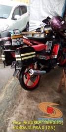 Kumpulan foto Honda Supra X 125 pakai tubular framre dan triple box gans.. (8)
