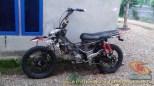 Kumpulan modifikasi trail odong-odong basis mesin Honda Supra X 125 brosis (16)